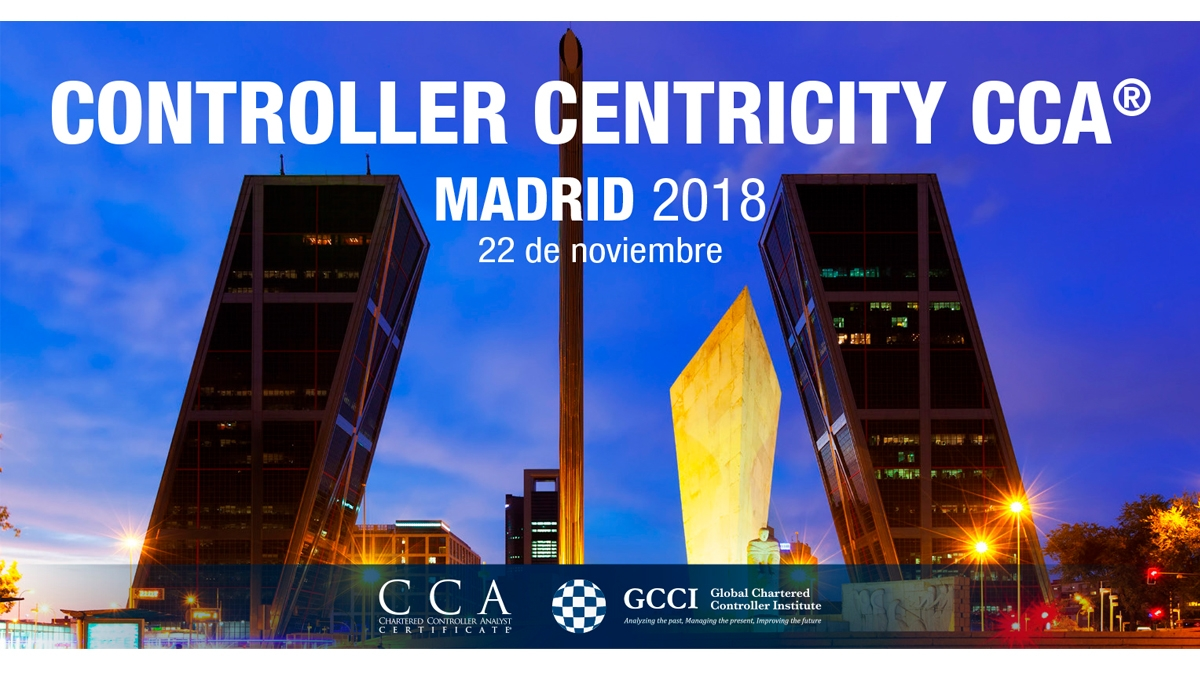 Controller Centricity CCA® Madrid 2018