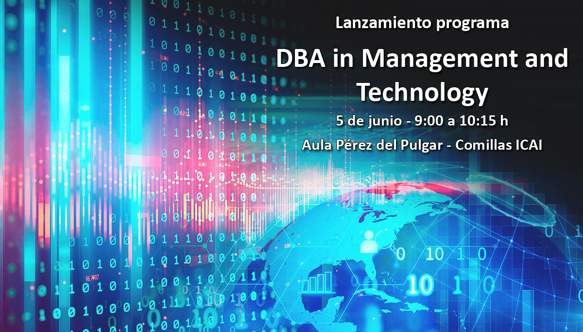 Presentación del Programa DBA in Management and Technology | 5 junio