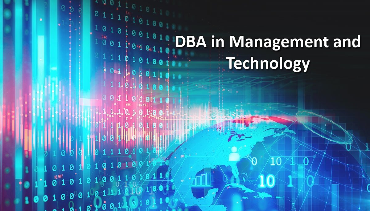 Programa DBA in Management and Technology 20/21